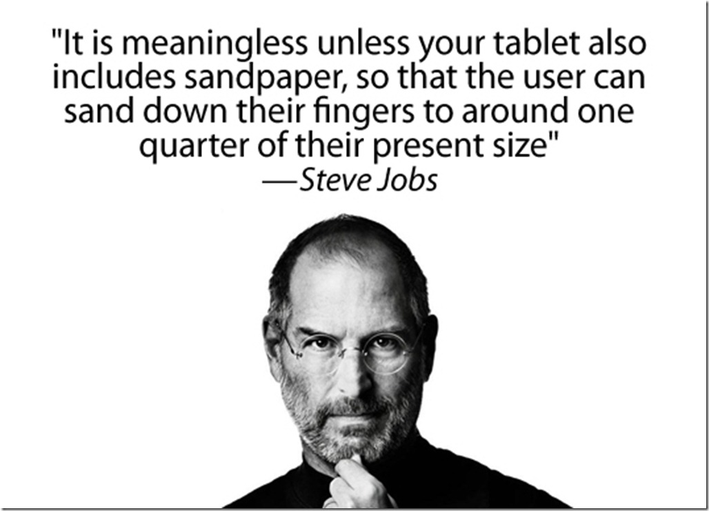 Jobs ipad quote